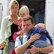 Gerry, Kate, Sean e Amelie de regresso a casa (Setembro 2007)