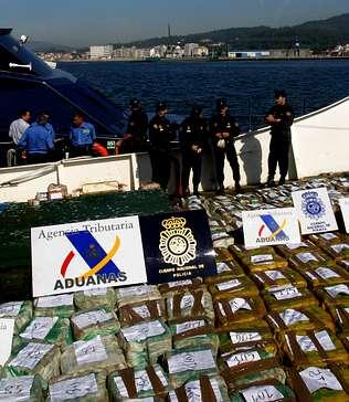 """No """"South Sea"""" foram apanhadas 6 toneladas de cocaína"""