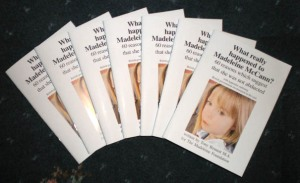 """""""Que aconteceu realmente a Madeleine McCann? - 60 razões que sugerem que não foi raptada"""""""