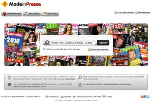 """O site """"madeinpresse"""""""